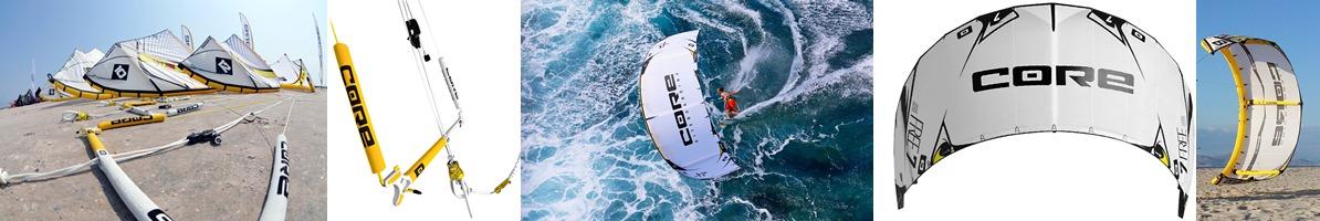 core bar kite and beach Matas Bay